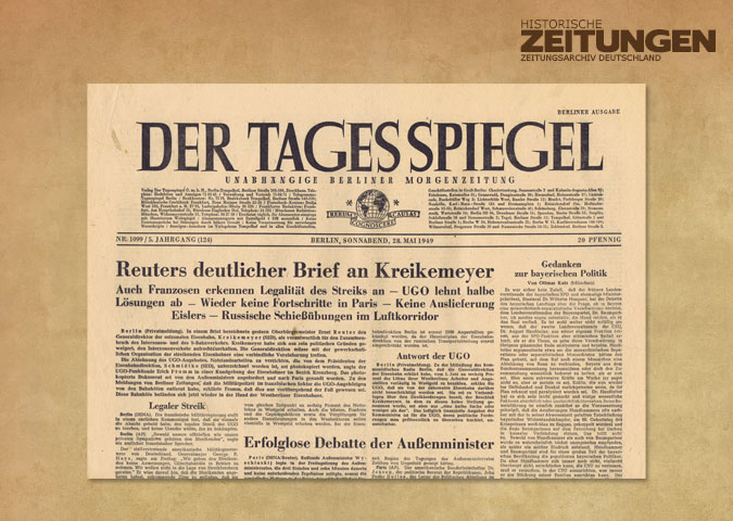 Zeitungsarchiv zeitungen zeitschriften vom for Spiegel wochenzeitung